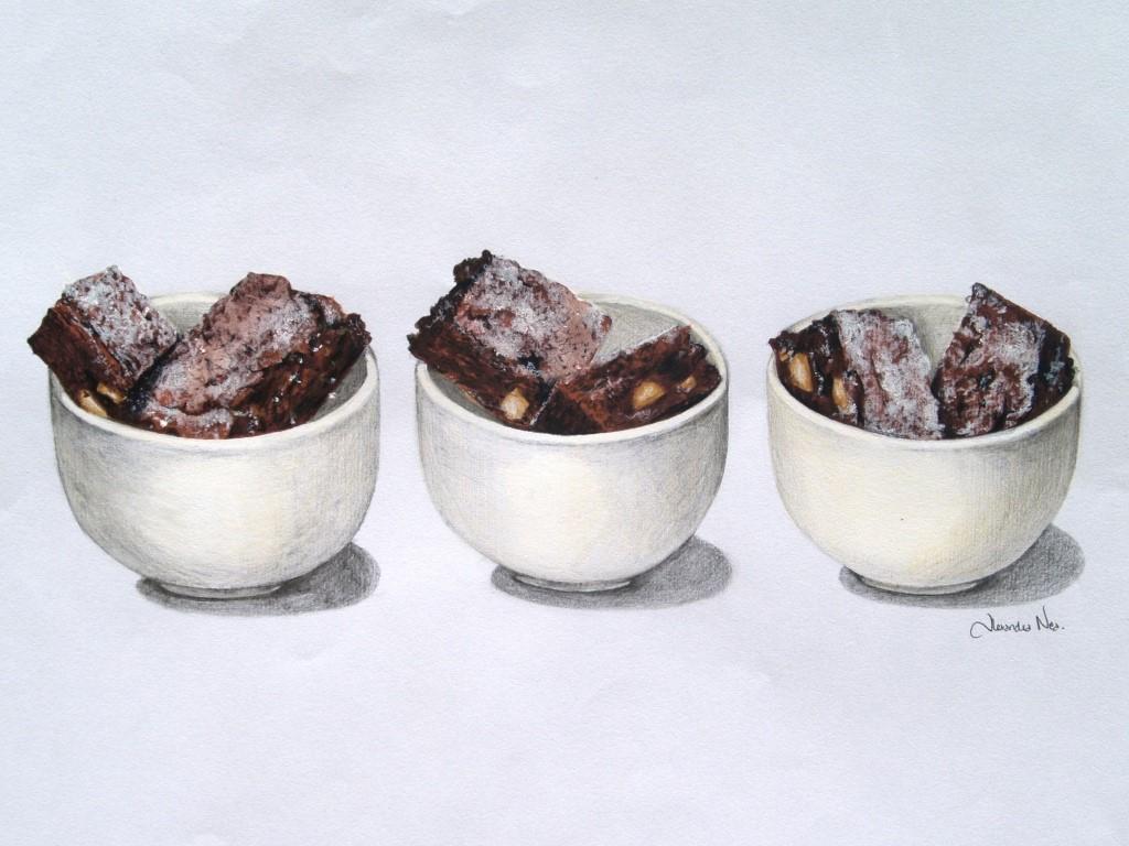 Brownies de Feijão Azuki - Mil Grãos - Macrobiótica