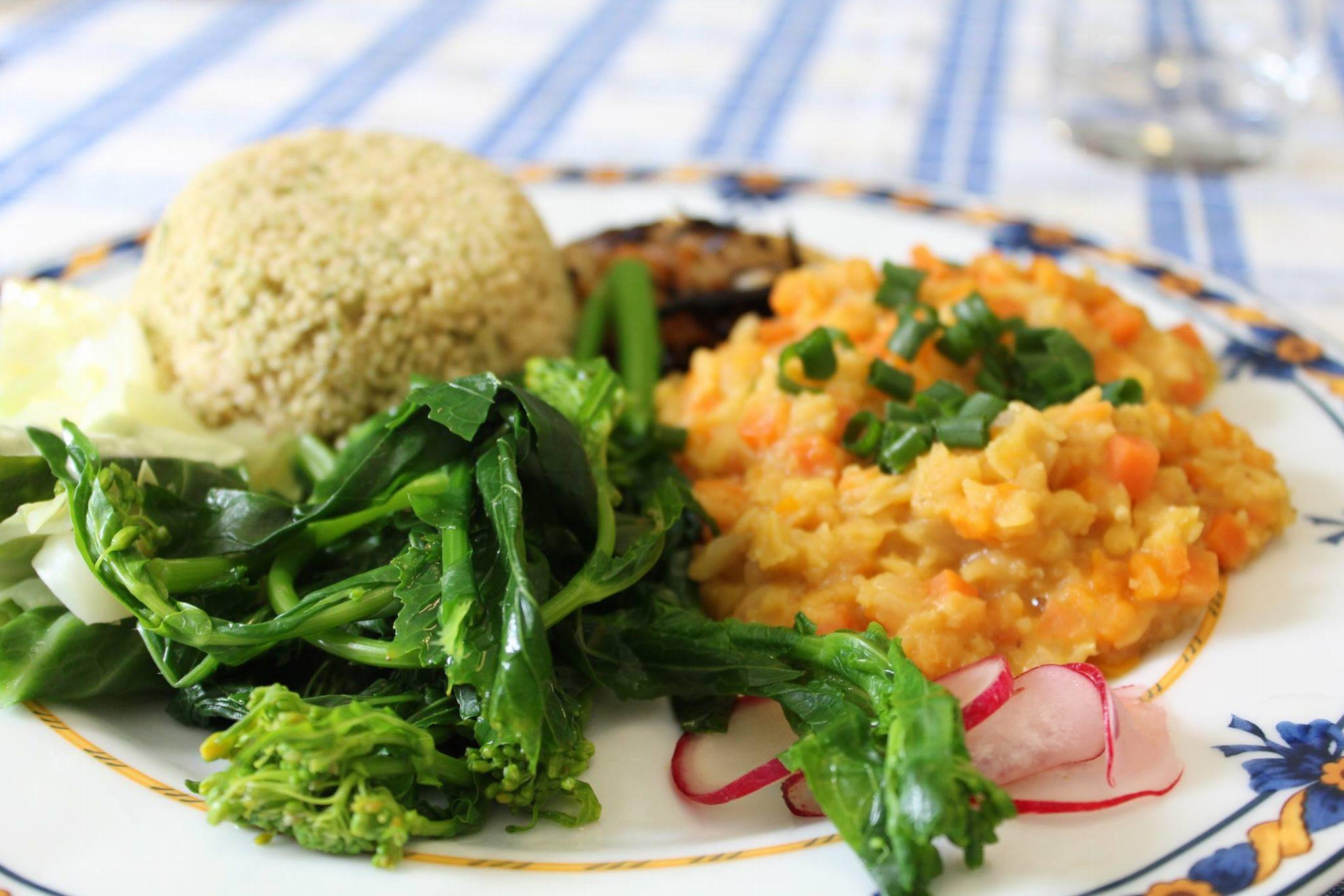 Lentilhas Laranja Estufadas com Vegetais - Mil Grãos