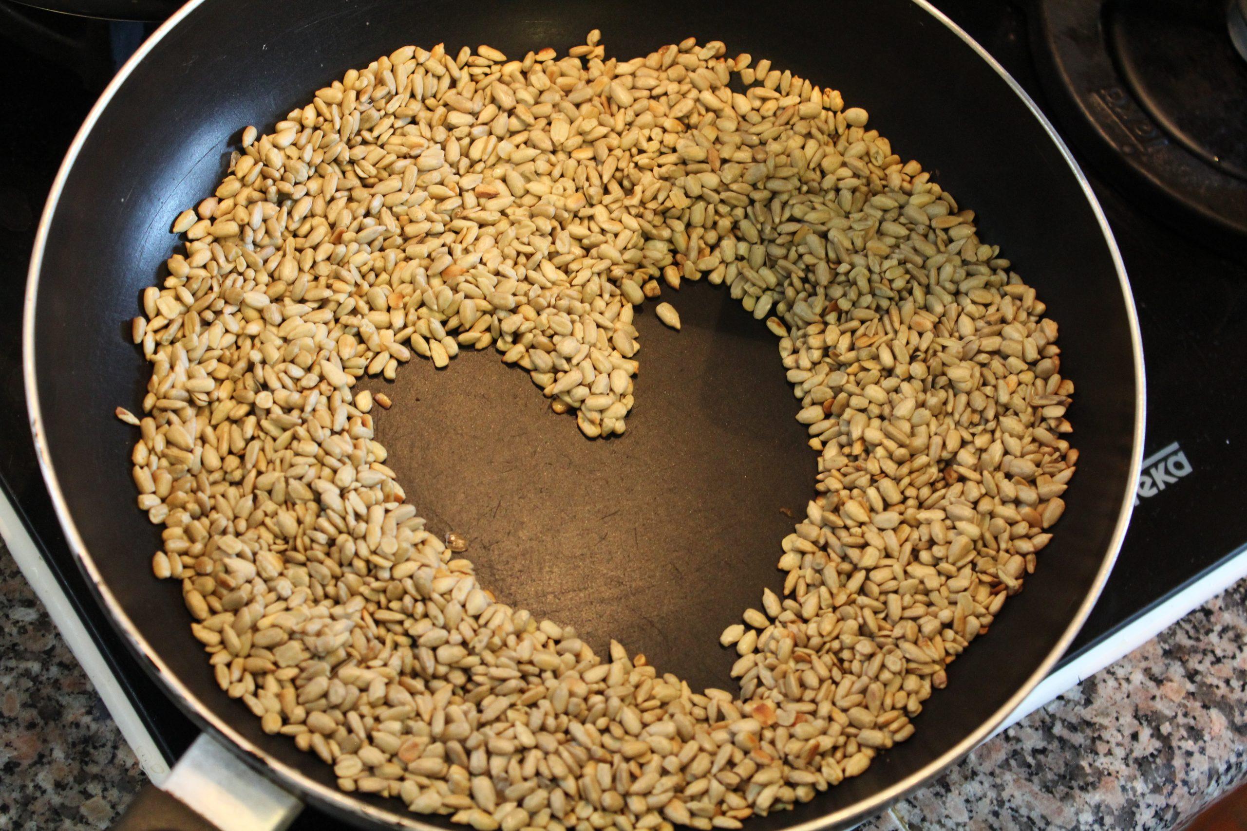 Sementes de girassol tostadas com shoyu - Mil Grãos