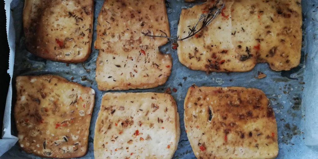 Tofu no Forno - Mil Grãos