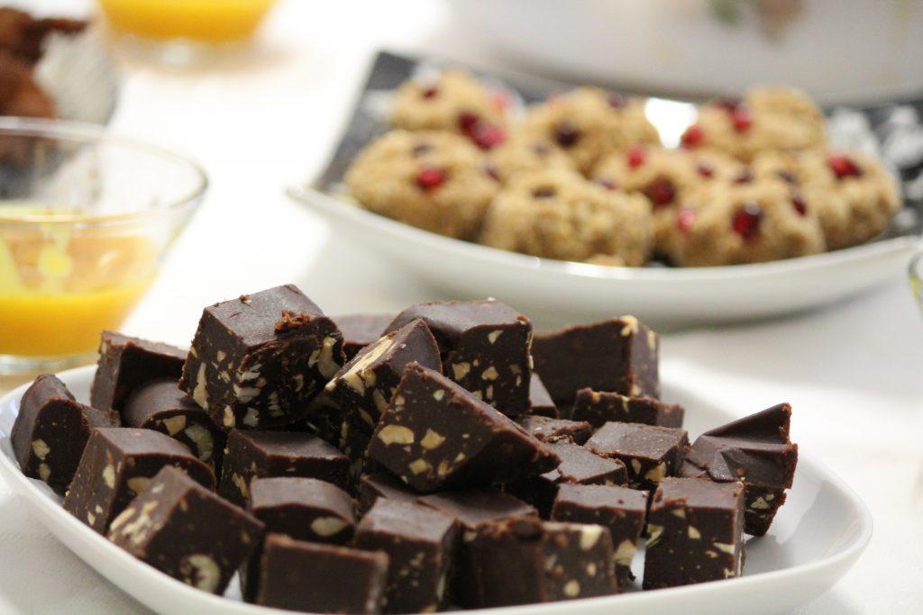 Torrão de chocolate e amendoim (vegan e sem açúcar) - Mil Grãos