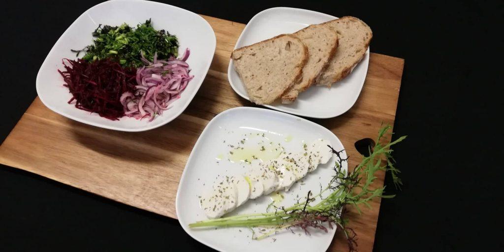 Salada Pickelada de Mizuna
