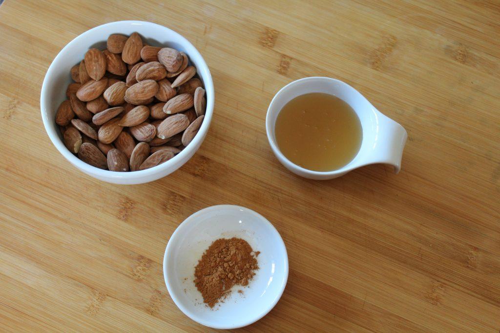 Amêndoas caramelizadas com geleia de arroz - Mil Grãos